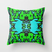 infinite Throw Pillows featuring Infinite by Phinilez