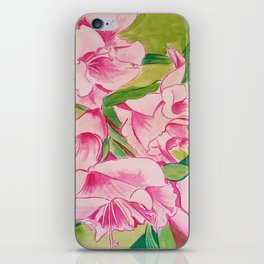 Her Mother's Gladiolus iPhone Skin