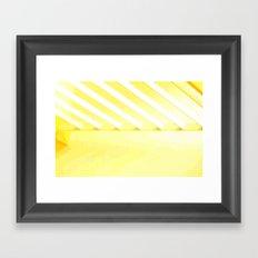 Desert Rays Framed Art Print