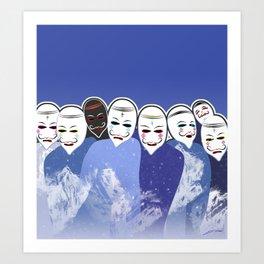 Qollas Art Print