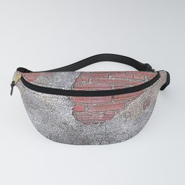 Daelaram - The wall of your life Fanny Pack