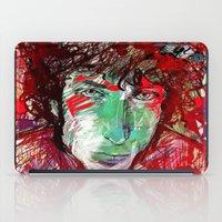 dylan iPad Cases featuring Bob Dylan by Irmak Akcadogan