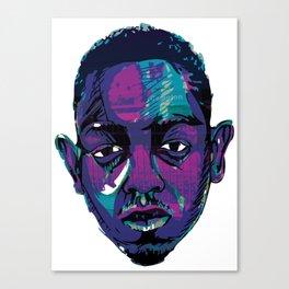 Control - Kendrick Lamar Canvas Print