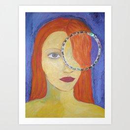 mirada (serie) Art Print