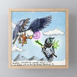 Doodles & Dragons - Mini Encounters Framed Mini Art Print