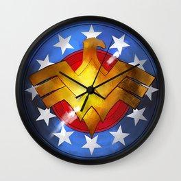 Wonder Shield Wall Clock