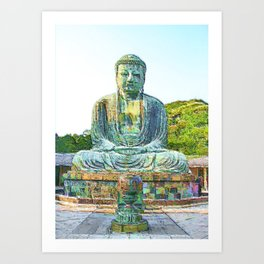 Diabutsu Art Print