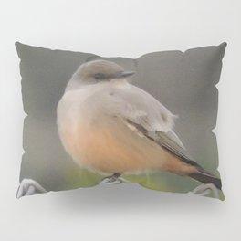 Say's Phoebe at Dusk Pillow Sham