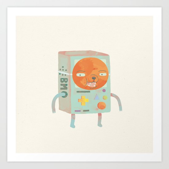 creeps Art Print