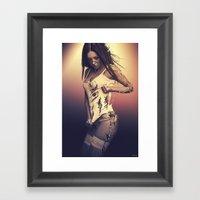 Fractured 01 Framed Art Print