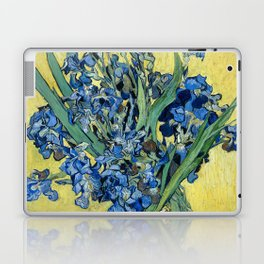 1890-Vincent van Gogh-Irises-73,5x92 Laptop & iPad Skin