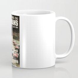 Le Mans poster, 1964, 24hs Le Mans, original vintage poster Coffee Mug