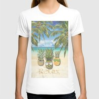relax T-shirts featuring relax by ulas okuyucu