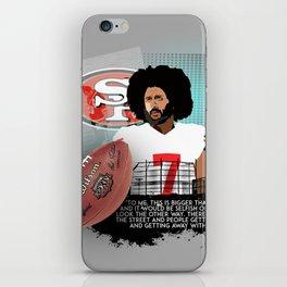 Colin Kaepernick iPhone Skin