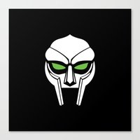 doom Canvas Prints featuring DOOM by Ricky Cribb