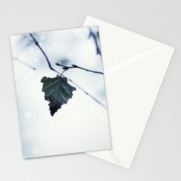 The last leaf Stationery Cards