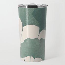 Ginko Leaves Travel Mug
