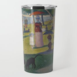 A Sunday Afternoon on the Island of La Grande Jatte (High Resolution) Travel Mug