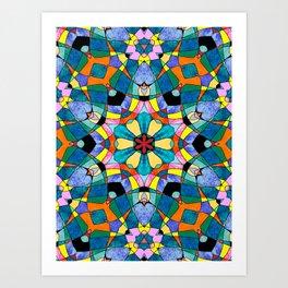 fractal V Art Print