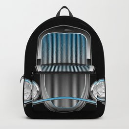 1930s Style Street Rod Car Grill Backpack
