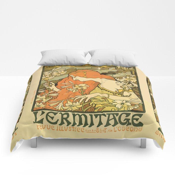 Art Deco Paris Comforters