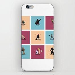 Frame Wars feat Boba fett... iPhone Skin