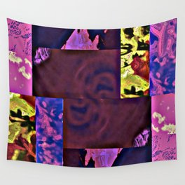 Rose Collage 143 Wall Tapestry