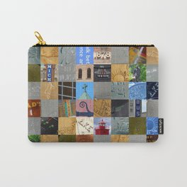Pieces of Pictures Collage Carry-All Pouch