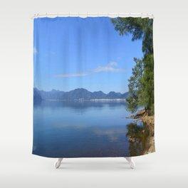 Marmaris from Netsel Marina Shower Curtain