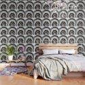 Gray Black White Agate with Rose Gold Glitter #1 #gem #decor #art #society6 by anitabellajantz