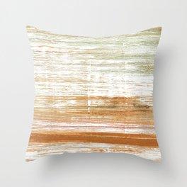 Vanilla watercolor Throw Pillow