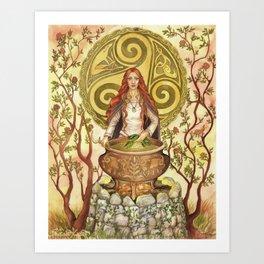 Ceridwen Art Print