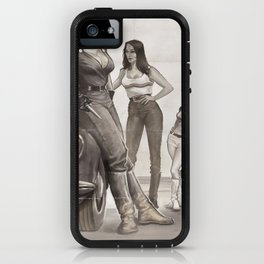 Hot Rod Pussycats iPhone Case