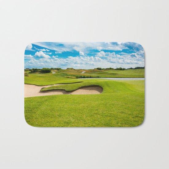 golf course Bath Mat
