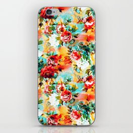 Floral Camouflage iPhone Skin