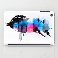 animal crew iPad Cases featuring Animal by Organic Mind