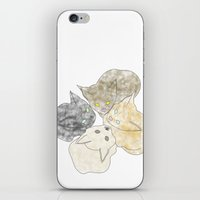 kittens iPhone & iPod Skins featuring kittens by GPM Arts