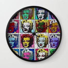 Watch This Space gallery - Signature Marilyn (Fame) Wall Clock