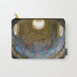 Frescoes of La Maddalena Cathedral, Rome, Italy Carry-All Pouch