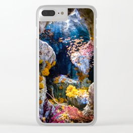 Enchanted Caves Clear iPhone Case