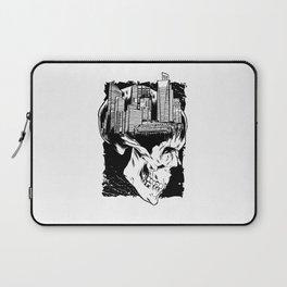 City Skull Laptop Sleeve