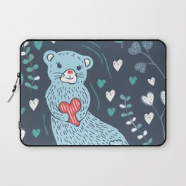 Otterly in Love Laptop Sleeve