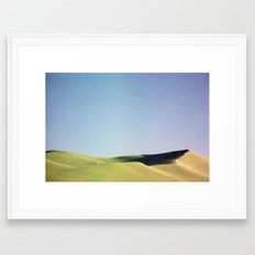 grain loss Framed Art Print