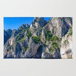 The White Grotto of the island of Capri, Italy off Naples and the Amalfi Coast Rug