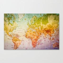 Colorful World Canvas Print