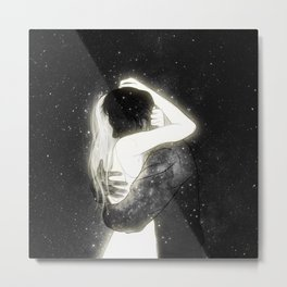 The light to my heart. Metal Print