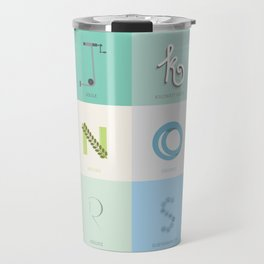 Sustainability Alphabet Travel Mug