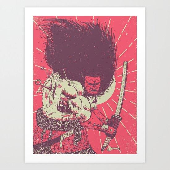 Ukita Hinawa: Degeneration Art Print
