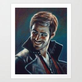Captain Killian Jones Art Print