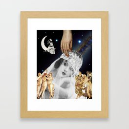 Lovers And Madmen Have Such Seething Brains Framed Art Print